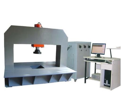 HJYW-600B微机伺服恒应力井盖压力试验机