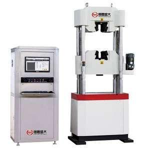 全自动电子拉伸试验机在拉伸测试中分为四个阶段