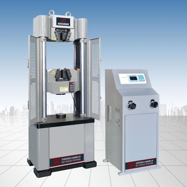 浅析液压万能试验机的电液控制系统合理的操作和调整方法